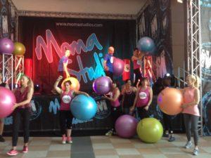 Esibizione Rimini Wellness 2015 GET!