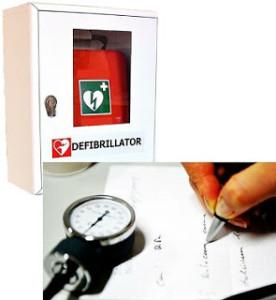 defibrillatore e certificato medico