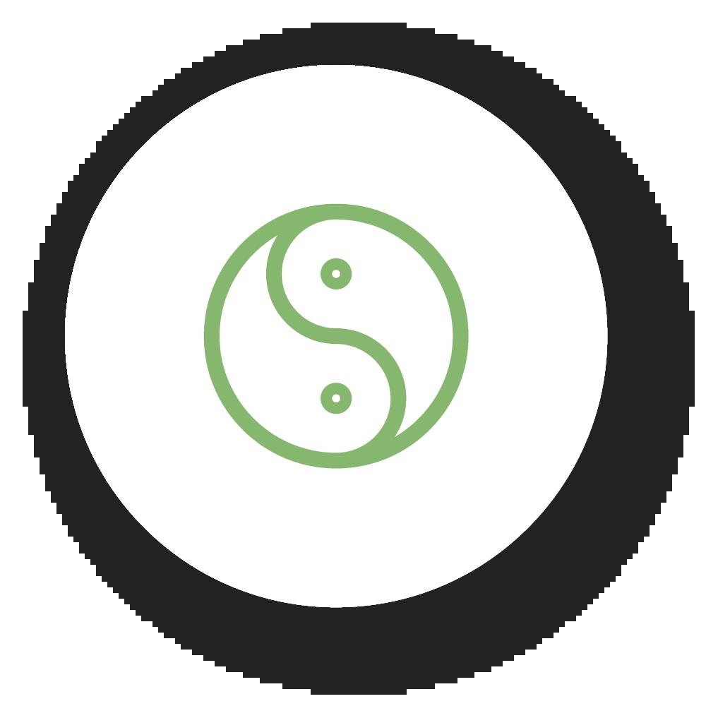 Icona dello Yin e dello yang